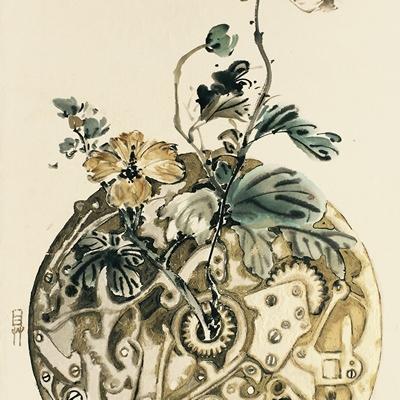 [A0001-0024] 태엽감는 꽃