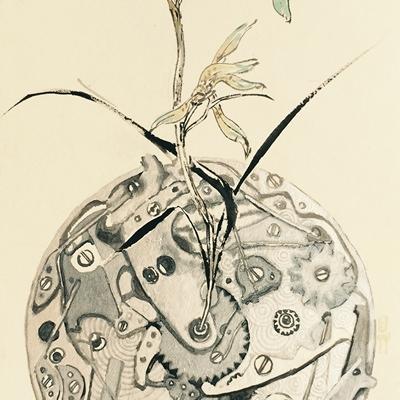 [A0001-0026] 태엽감는 꽃