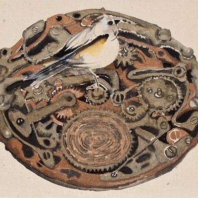[A0001-0030] 태엽감는 새