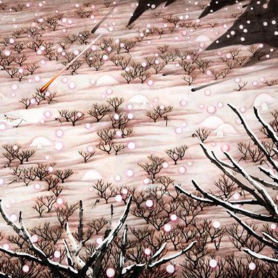 [A0002-0006] 눈내리는 아름다운 풍경