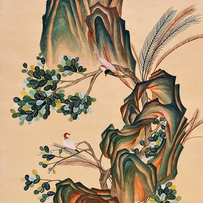 [A0013-0015] 나무와 돌과 새 이야기