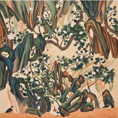 [A0013-0020] 나무와 돌과 새 이야기