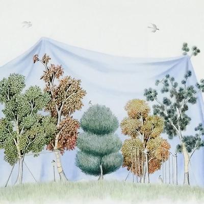 [A0013-0024] whispering garden