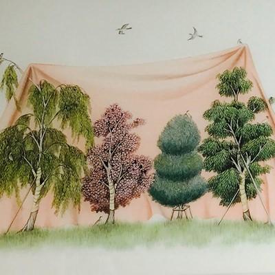 [A0013-0025] whispering garden