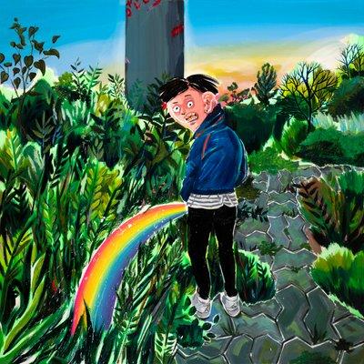 [A0017-0076] Rainbow Pee