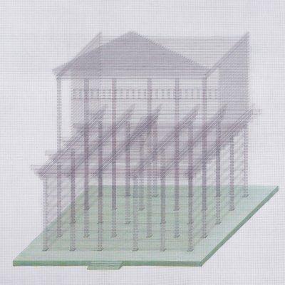 [A0022-0017] 투명한 집
