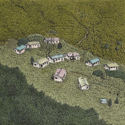 [A0027-0017] 화전민 마을