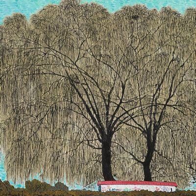 [A0027-0069] 겨울 버드나무