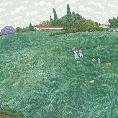 [A0027-0084] 고창 보리밭 언덕 1