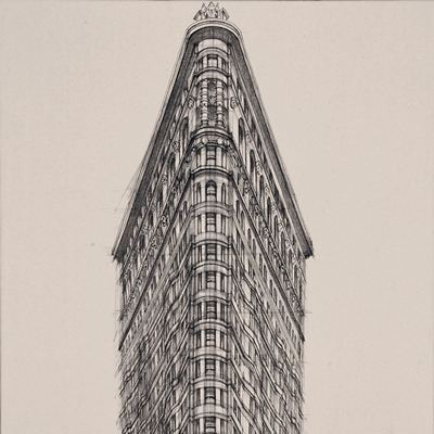 [A0028-0001] Flat Iron Building