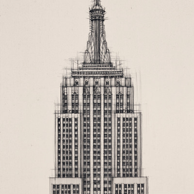 [A0028-0002] Empire State Building