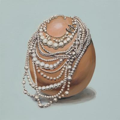 [A0030-0033] 진주목걸이를 한 계란