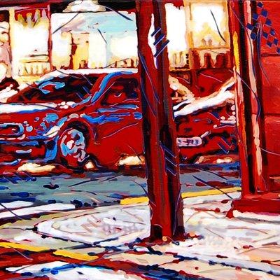 [A0031-0023] 붉은 거리(삼청동)
