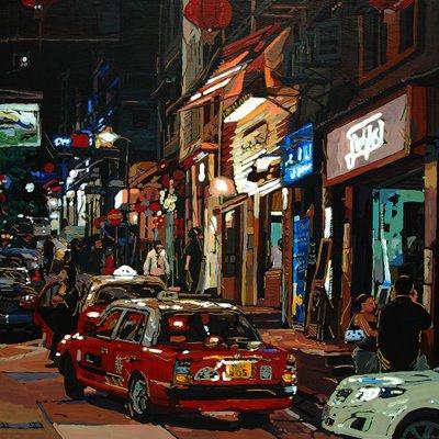 [A0031-0035] 홍콩택시