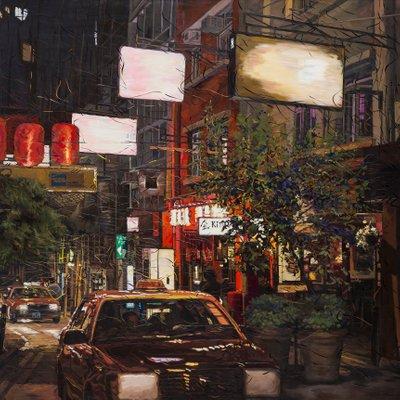 [A0031-0039] 홍콩 소호 거리