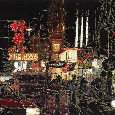 [A0031-0044] 홍콩 밤 풍경