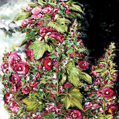 [A0037-0019] 접시꽃 Hollyhock