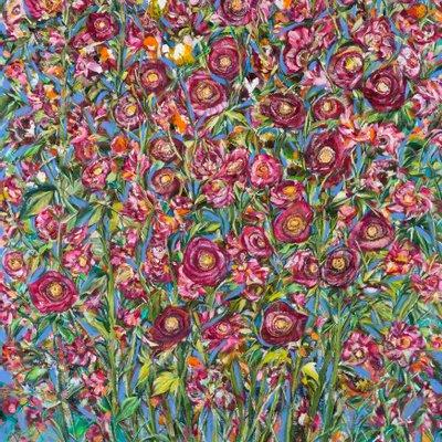 [A0037-0042] Hollyhock  접시꽃