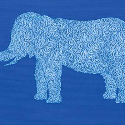 [A0039-0038] 정원-꿈 코끼리16-1