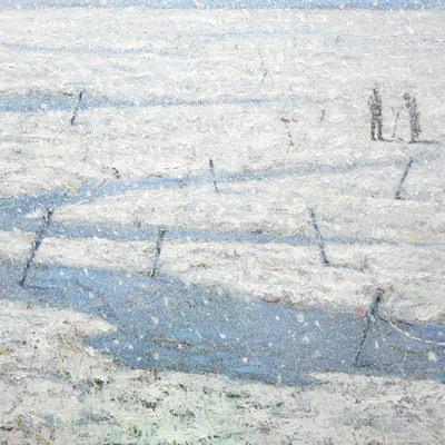 [A0051-0004] 변형된 욕망-눈밭 위에 만종