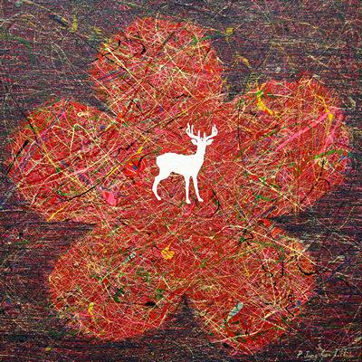 [A0051-0007] 변형된 욕망-붉은 꽃4