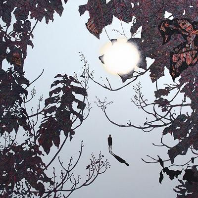 [A0051-0020] 변형된 욕망-숲 & 여행자