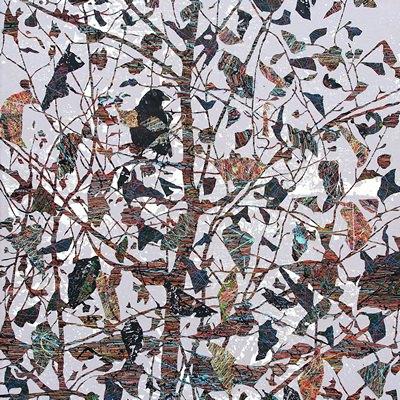 [A0051-0022] 변형된 욕망-까마귀가 있는 나무