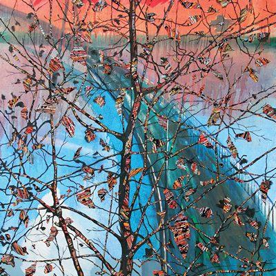 [A0051-0023] 변형된 욕망-다리 위 나무