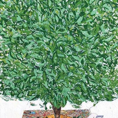 [A0051-0035] 변형된 욕망-푸른 나무