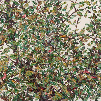 [A0051-0042] 변형된 욕망 - 숲에 잔상 9