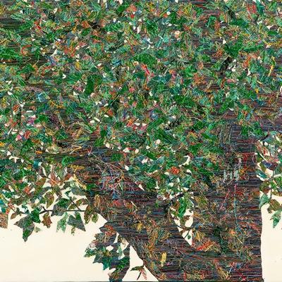[A0051-0045] 변형된 욕망 - 숲에 잔상 10