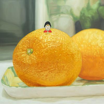 [A0052-0011] 원더우맘(wonderwoMom) 비타민을 섭취하다