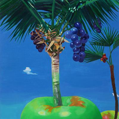 [A0055-0003] 푸른 사과