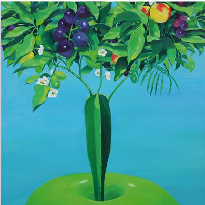 [A0055-0009] 부유하는 사과