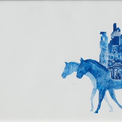 [A0055-0108] 움직이는 집- 푸른 그림자1