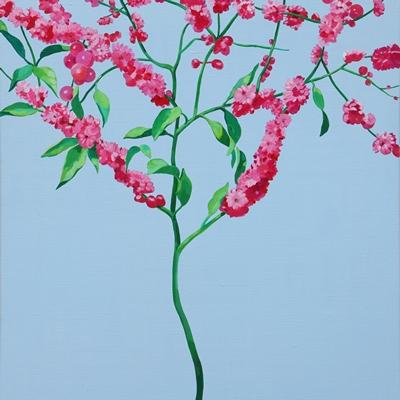 [A0055-0113] 붉은 꽃