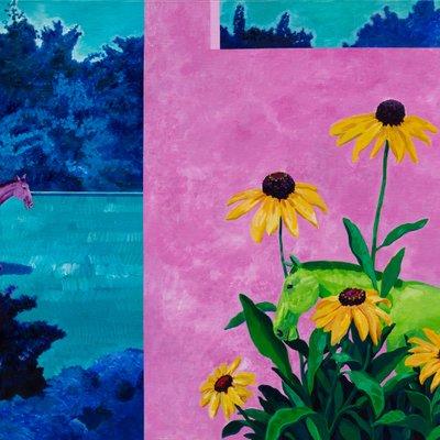 [A0055-0216] 피그말리온의 정원-다섯개의 꽃