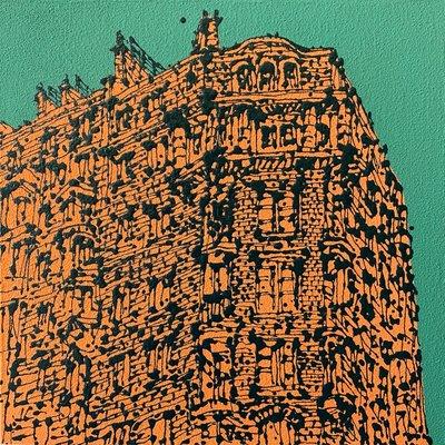 [A0056-0131] Corner Building in Paris