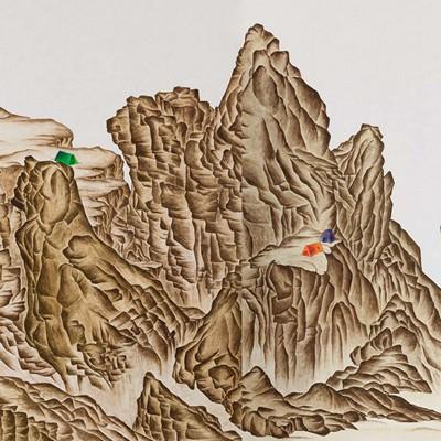 [A0060-0027] 강산무진江山無盡