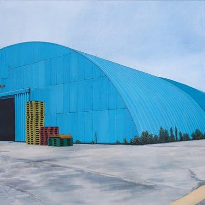 [A0064-0028] 파란 지붕#2