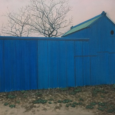 [A0064-0029] 파란 지붕#3