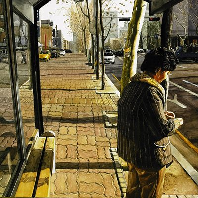 [A0080-0031] Bus stop