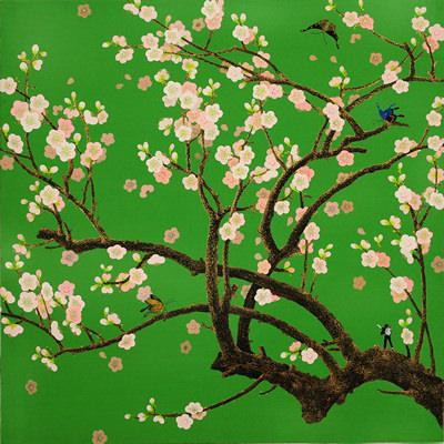 [A0081-0007] 매화나무 위의 dancer