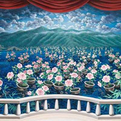 [A0081-0026] 사랑을 꿈꾸는 따리 얼하이 호수