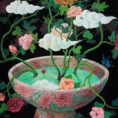 [A0081-0040] 사랑이 꽃피는 정원