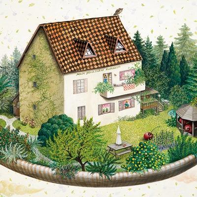 [A0081-0072] 체리가 있는 정원