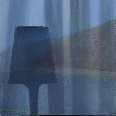 [A0082-0004] 쇼윈도우 안에 꺼진 전등