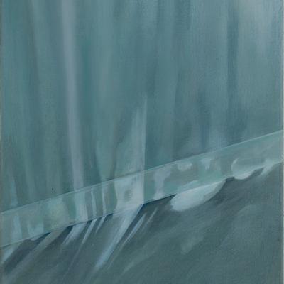 [A0082-0007] 벽에 맺힌 가로수 그림자