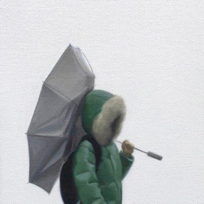 [A0090-0016] 뒤집힌 우산