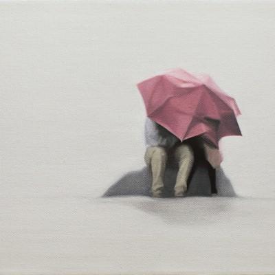 [A0090-0018] 분홍 우산